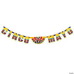 Cinco De Mayo Card Stock Jointed Banner