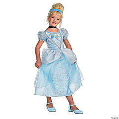 Cinderella Deluxe Princess Costume for Girls