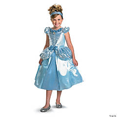 Cinderella Lamé Deluxe Princess Costume for Girls