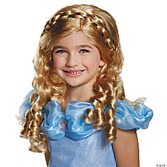 Cinderella Movie Wig for Girls