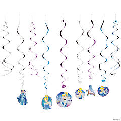 Cinderella Sparkle Swirl Decorations