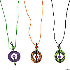 Circle Halloween Necklace Craft Kit
