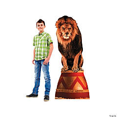 Circus Lion Cardboard Stand-Up