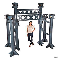City Bridge Arch Cardboard Stand-Up