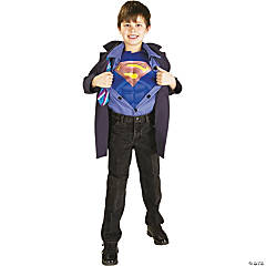 Clark Kent Superman Reverse Boy's Costume