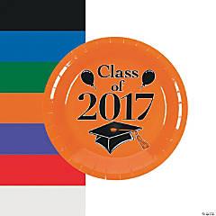 Class of 2017 Graduation Party Paper Dessert Plates