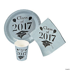 Class of 2017 Silver Tableware Set