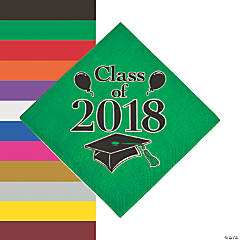 Class of 2018 Grad Party Luncheon Napkins