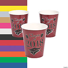 Class of 2018 Grad Party Paper Cups