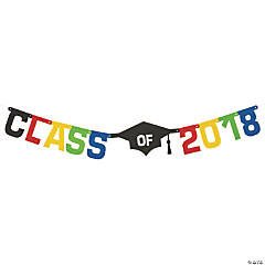 Class of 2018 Graduation Jointed Banner