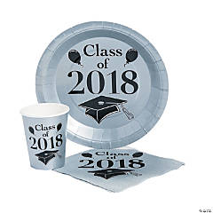 Class of 2018 Silver Tableware Set for 50