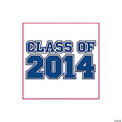 Class of 2014 Blue Tattoos