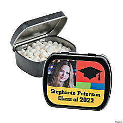 Class of Custom Photo Mint Tins