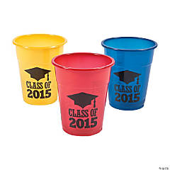 Class of 2015 Disposable Cups