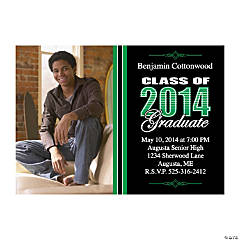 Class of 2014 Graduate Custom Photo Invitations