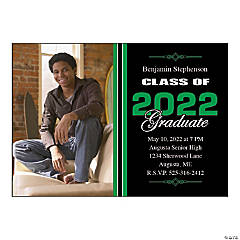 Class of 2015 Graduate Custom Photo Invitations