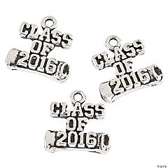 Class of 2016 Graduation Charms