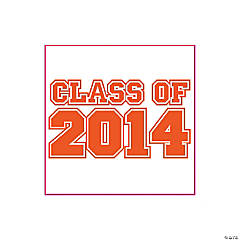 Class of 2014 Orange Tattoos