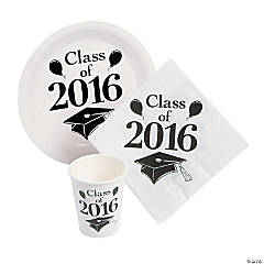 Class of 2016 White Tableware Set