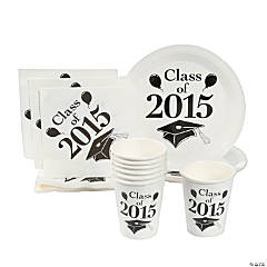 Class of 2015 White Tableware