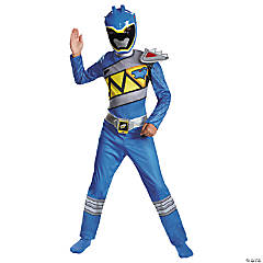 Classic Blue Ranger Dino Costume for Children