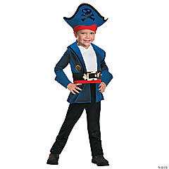 Classic Captain Jake Costume for Toddler Boys