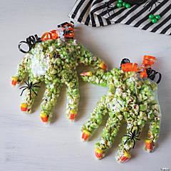 Classic Halloween Witch Hand Recipe & Craft Idea