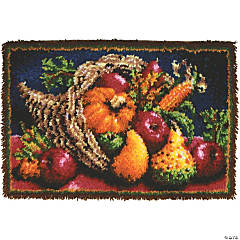Classic Latch Hook Kit-Country Harvest
