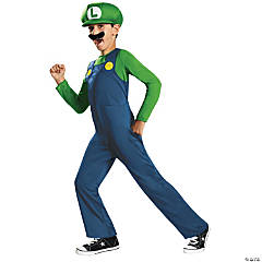 Classic Luigi Costume for Boys