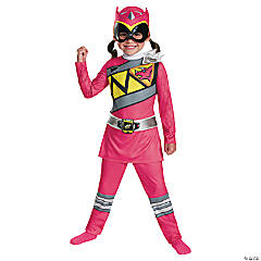 Classic Pink Ranger Dino Costume for Toddler Girls
