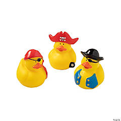 Classic Pirate Rubber Duckies