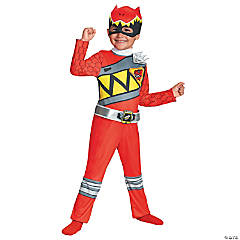Classic Red Ranger Dino Costume for Toddler Boys