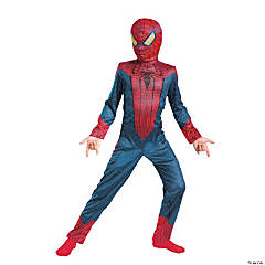 Classic Spiderman Costume for Boys