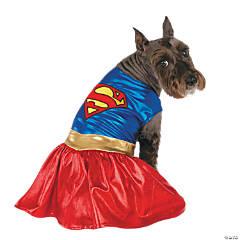 Classic Supergirl Dog Costume