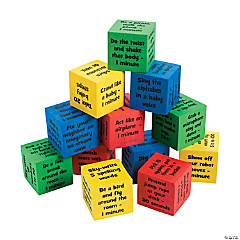 Classroom Brain Break Activity Dice