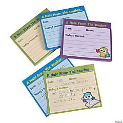 Classroom Exit Pass Notepads