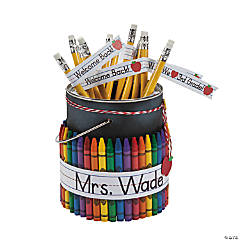 Classroom Pencil Bucket Idea