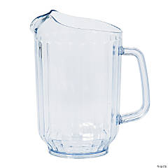 Clear Drink Pitcher