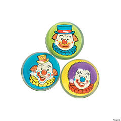 Clown Bouncing Balls