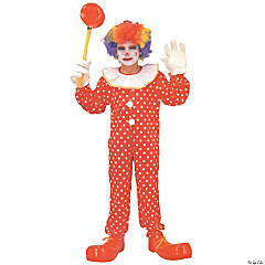 Clown Deluxe Kid's Costume