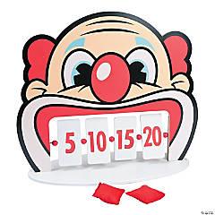 Clown Tooth Bean Bag Toss Bag Game
