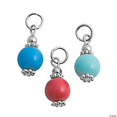 Coastal Colors Bead Dangles - 9mm