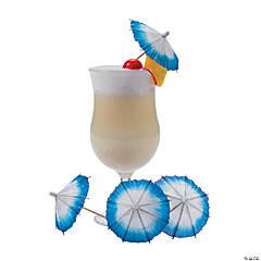 Coastal Seaside Cocktail Umbrellas
