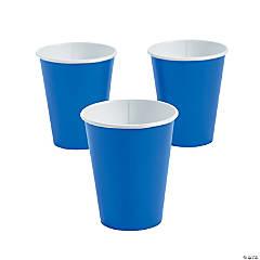 Cobalt Blue Paper Cups