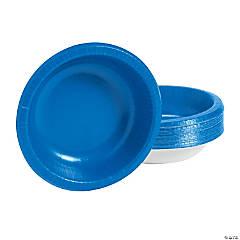 Cobalt Paper Bowls