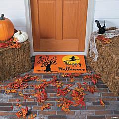 Coir Mat Happy Halloween Décor
