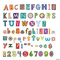 Collage Art Designer Letters