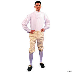 Colonial Breeches Adult Men's Costume - Large