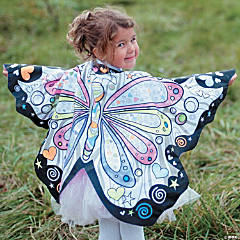 Color-A-Butterfly Wings
