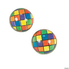 Color Block Bouncy Balls